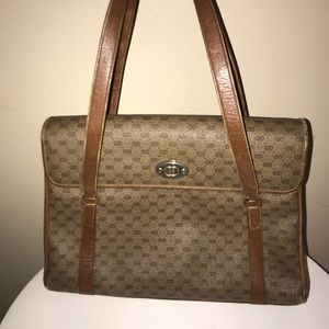 Authentic vintage Gucci tote purse